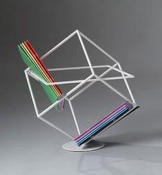 magazine rack by Marco Ripa