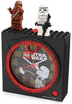 Star Wars Lego Clock