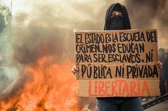 #Marcha #Nacional por la #Educación (#Santiago) - 26 de Junio, 2013 Michael Green #photojournalism #protests #riots #chile #school #education
