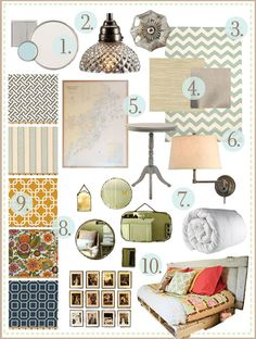 yellow house project : the guest room