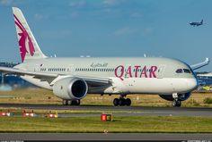Spotters.Aero - Фото самолета (ID:113850) Qatar Airways Boeing 787-8 Dreamliner A7-BCJ