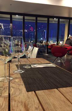 Buenas noches. Os esperamos para la cena  #Barcelona #Catalunya #cena #Mirandoalmar #Maremagnum #restaurant #km0 #romantico #terraza #vistas