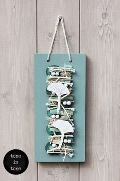 H.O.M.E. #Dress #Up #Your #Door or #Wall with this #DIY #turquoise #handmade #interior #decoration | by toneintone Turquoise, Doors, Decoration, Interior, Wall, Handmade, Diy, Home Decor, Decor