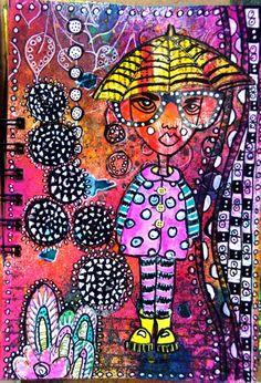 skorpionens rede: Art Journal