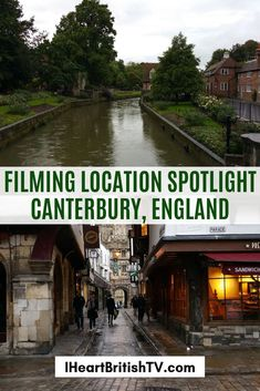 Canterbusy is a lovely historic town. We list some of your favorite British TV filming locations. #canterbury #england #historic #tv #film Canterbury England, British Travel, Old Building, Filming Locations, Day For Night, Great Britain, Spotlight, Tv, World