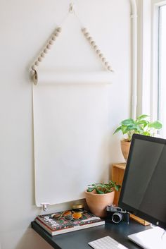 Quick DIY: Beaded Noteboard
