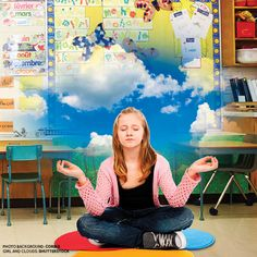 Lessons in mindfulness are creeping into elementary classrooms, and proponents insist it's making for happier, more focused students.