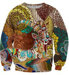 Capricorn sweater, Mr. GUGU & Miss GO