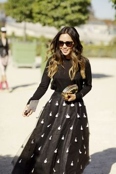 aimee_song_mirror_clutch_black_tulle_skirt_pfw