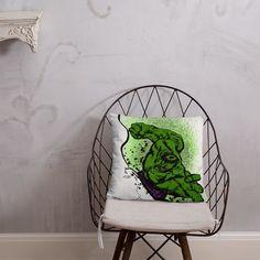 Hulk Smash Pillow Afternoon Nap, Hulk Smash, Pillow Fight, Hanging Chair, Shapes, Pillows, Home Decor, Hammock Chair, Cushion