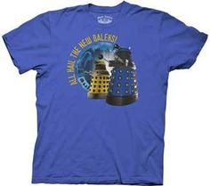 MICAH!!  DR WHO All Hail the New Daleks S M L XL XXL t Shirt NEW | eBay