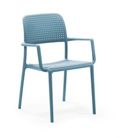 Ordentlich Black and modern plastic garden chair https://www.beliani.ch  ET81