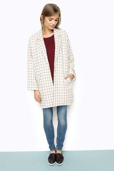 Monki - View all new - Matilda checked coat