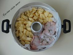 Pollo con patate nel fornetto Versilia Cucina vista mare