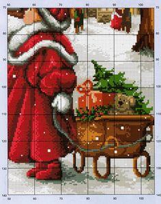 Point de croix Noël ❤️✼❤️✼wishing for christmas 3