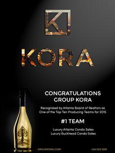 KORA Among Top Ten Producing Teams Atlanta Real Estate