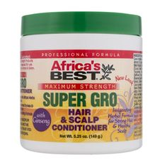 Africa's Best Super Gro Hair & Scalp Conditioner - Maximum Strength 5.25 oz $3.59   Visit www.BarberSalon.com One stop shopping for Professional Barber Supplies, Salon Supplies, Hair & Wigs, Professional Product. GUARANTEE LOW PRICES!!! #barbersupply #barbersupplies #salonsupply #salonsupplies #beautysupply #beautysupplies #barber #salon #hair #wig #deals #sales #AfricasBest #SuperGro #Hair #Scalp #Conditioner #Maximum #Strength