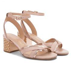 Sandale BRUNO PREMI - Nappa + Frer R1000P Nude/Rame