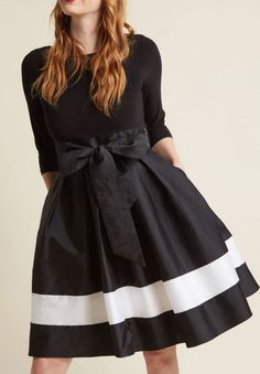 Pretty fit and flare dress