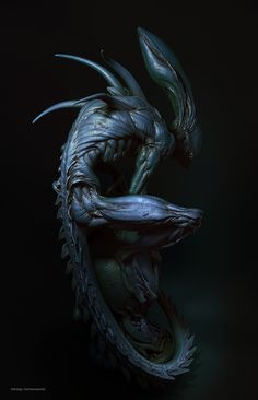 Scientist says Aliens in UFOs might be Earthlings from the Future - Aliens are Humans Alien Vs Predator, Predator Alien, Giger Alien, Hr Giger, Arte Alien, Alien Art, Alien Creatures, Fantasy Creatures, Dark Creatures