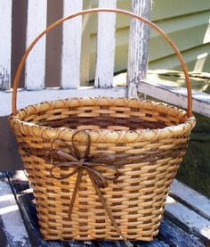 Bev's Baskets - Williamsburg with smoked reed