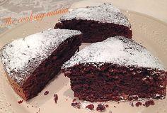 Torta di amaretti e cacao, un dolce delizioso e profumato dal sapore intenso. Ideale a merenda e a colazione.