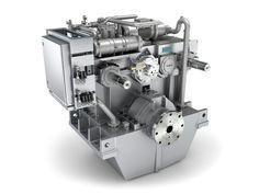 Siemens Schiffsgetriebe Produktvisualisierung, 3D Visualisierung technischer Produkte