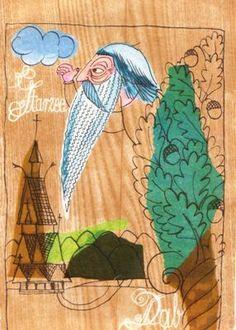 Norwegian Fairy Tales illustrations by Adam Killian 1975, via poleczkazksiazkamibeel2.blox.pl