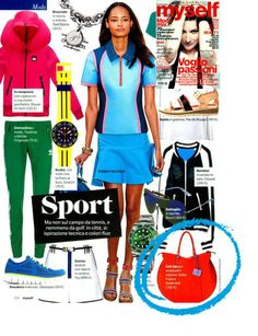 Gabs Isabella...sporty style!