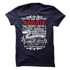 ((Top Tshirt Design) I am an Athlete [TShirt 2016] Hoodies
