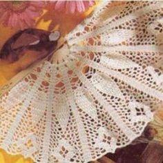 Patrón #1488: Abanico a Crochet   CTejidas [Crochet y Dos Agujas]