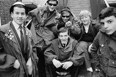 Young Mods at Brick Lane 1980