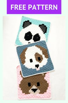 Pixel Crochet, C2c Crochet, Hand Crochet, Pixel Pattern, Dog Pattern, Corner To Corner Crochet Pattern, Dog Emoji, Easy Crochet Patterns, Scarf Patterns