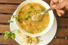 Joladha Kadubu / Sorghum dumplings in Lentil Soup - Powered by @ultimaterecipe