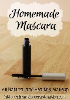 Homemade Mascara: All Natural Healthy Makeup