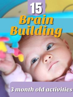 15 easy yet brilliant learning activities for little babies! These brain buildin… 15 easy yet brilliant learning activities for little babies! These brain buildin…,babyentwicklung 15 easy yet brilliant learning activities for little babies! 3 Months Baby Activities, Baby Learning Activities, Infant Activities, Infant Games, Preschool Activities, Baby Development By Week, Baby Development Milestones, Baby Milestones, 3 Month Old Milestones