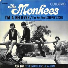 December 31, 1966 - The Monkees started a 7-week run at No.1 on the US singles charts with the Neil Diamond song 'I'm A Believer'. Also No.1 in the UK in 1967. It was the last No. 1 hit of 1966 and the biggest-selling record for all of 1967. Because of 1,051,280 advance orders, it went gold within two days of release. It is one of the fewer than forty all-time singles to have sold 10 million (or more) physical copies worldwide. •• #themonkees #thisdayinmusic #1960s #neildiamond