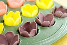 Tulip Cupcakes | Flickr - Photo Sharing!