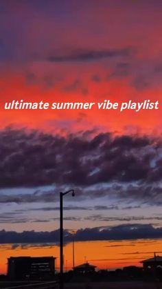 summer playlist vibes