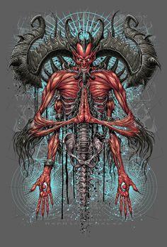 Mephisto, the Lord of hatred Gothic Fantasy Art, Fantasy Rpg, Mephisto, Vampires, Dark Artwork, Skull Artwork, Dark Evil, Creepy Vintage, Satanic Art