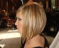 inverted bob hairstyles for thin hair - Google Search