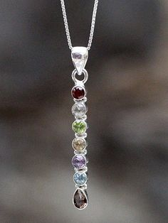 This beautiful pendant in our Sari Stone String collection was handmade in a small home-based workshop in the historic old city of Jaipur, India. Chakra, Beaded Jewelry, Gemstones, Diamond, Pendant, Silver, Handmade, Beautiful, Hand Made