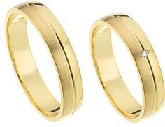 Geelgouden trouwringen actie 2 halen 1 betalen. De hele maand nog deze prachtige trouwringen in de aanbieding! Bestel Nu! - € 475,00
