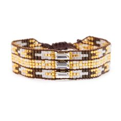 Chan Luu - Brown Mix Beaded Single Bracelet, $115.00 (http://www.chanluu.com/bracelets/brown-mix-beaded-single-bracelet/)