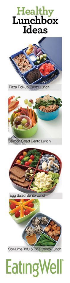 21 Healthy Lunchbox Ideas for Kids #backtoschool