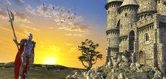 Worlds Of Fantasy Island Castle rendered in 3Delight in DAZ Studio 4.9