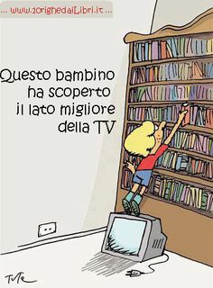 Questo bambino ha scoperto il lato migliore della TV.