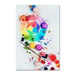 Trademark Fine Art 'Art Of Patisserie' Canvas Art by Dina Belenko, Multicolor
