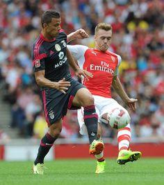 Arsenal 5 Benfica 1 - Calum had a fantastic debut.