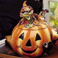 Halloween Cookie Jars | WebNuggetz.com